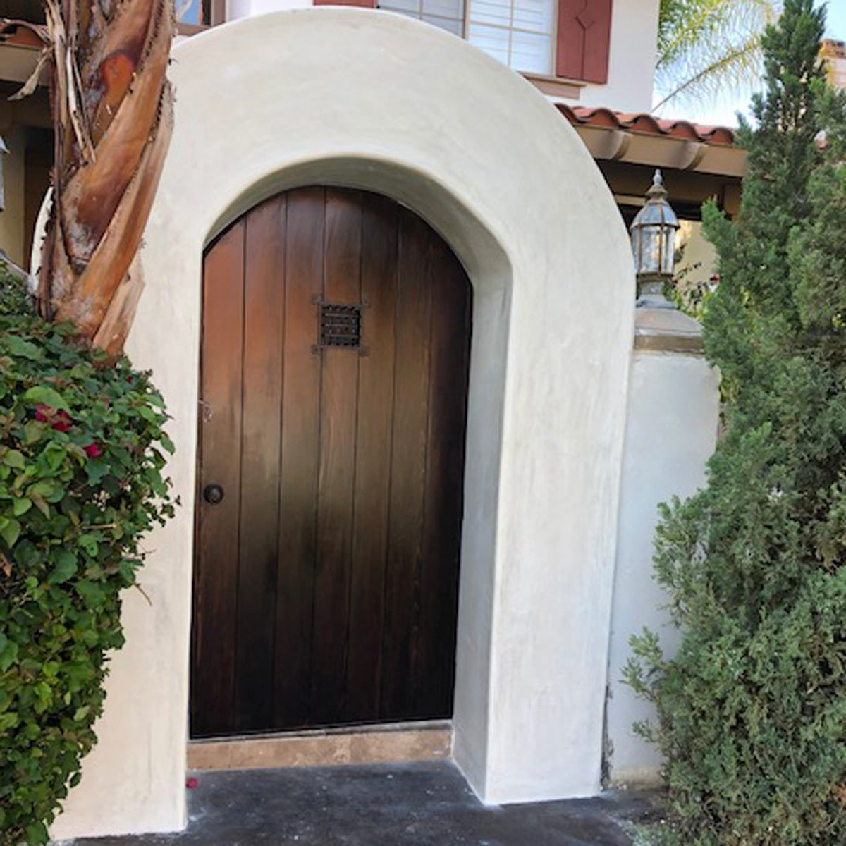 Reader Project Diy Custom Arched Entryway The Family