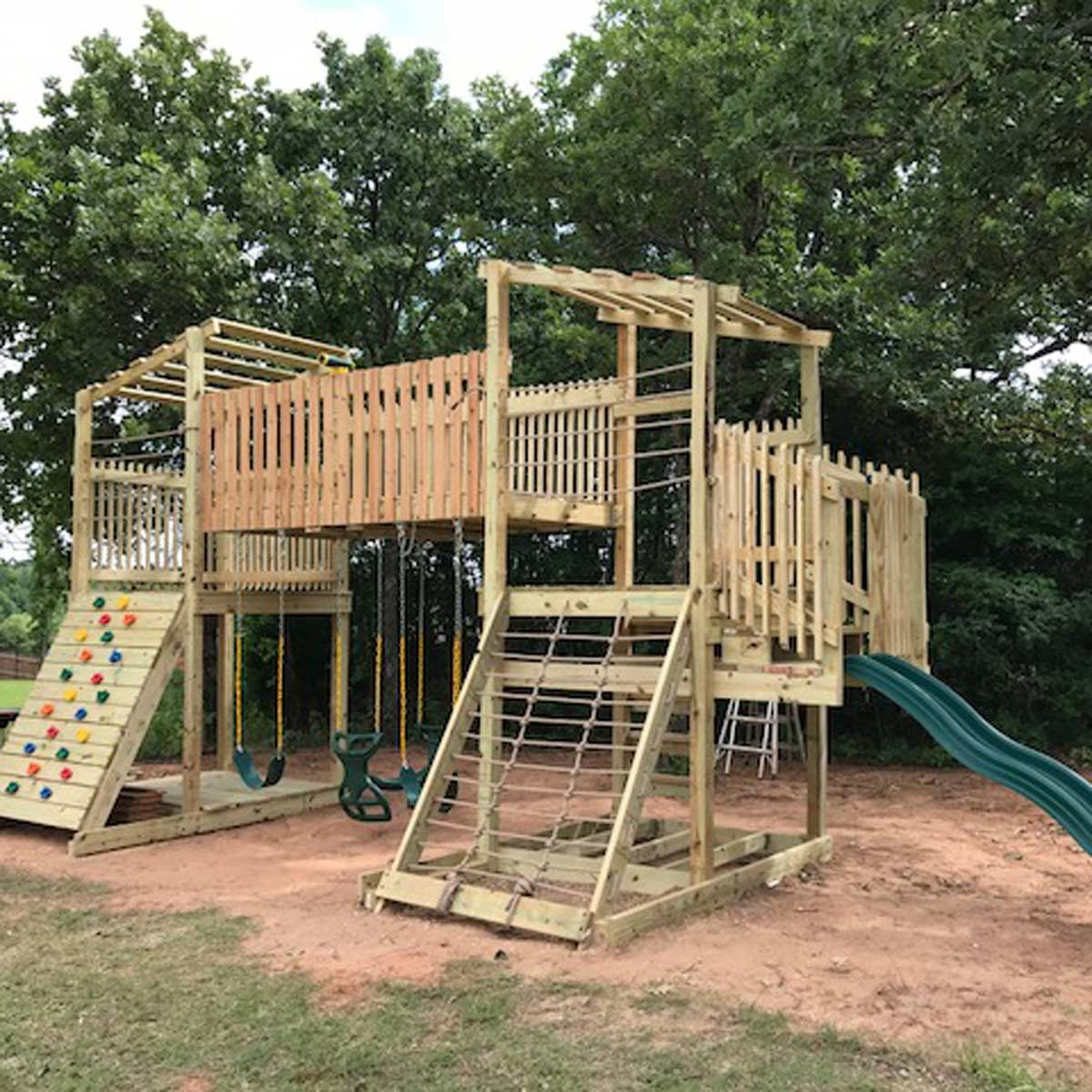 Reader Project: DIY Custom Playset | The Family Handyman