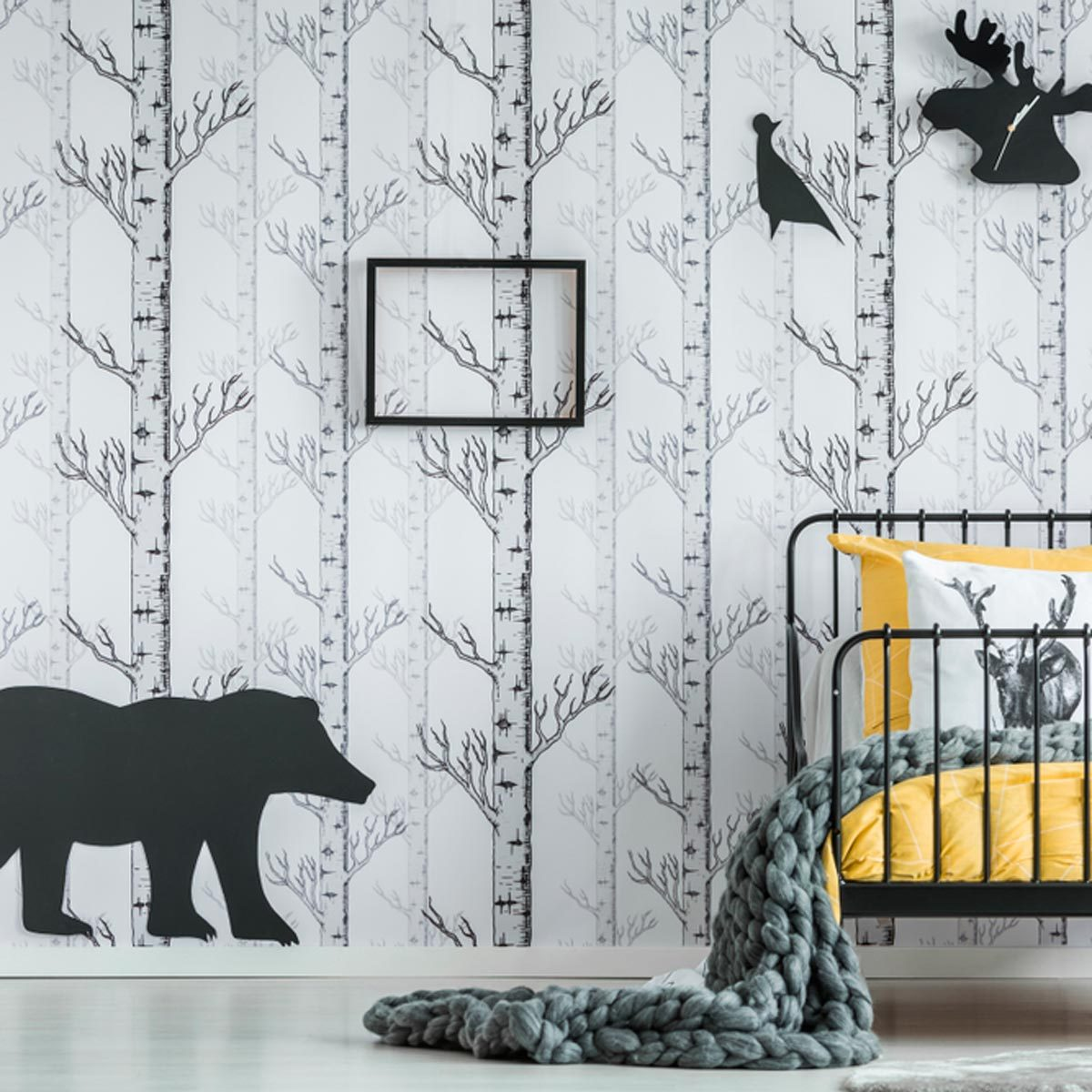 10 Stunning Black And White Bedroom Ideas For Kids