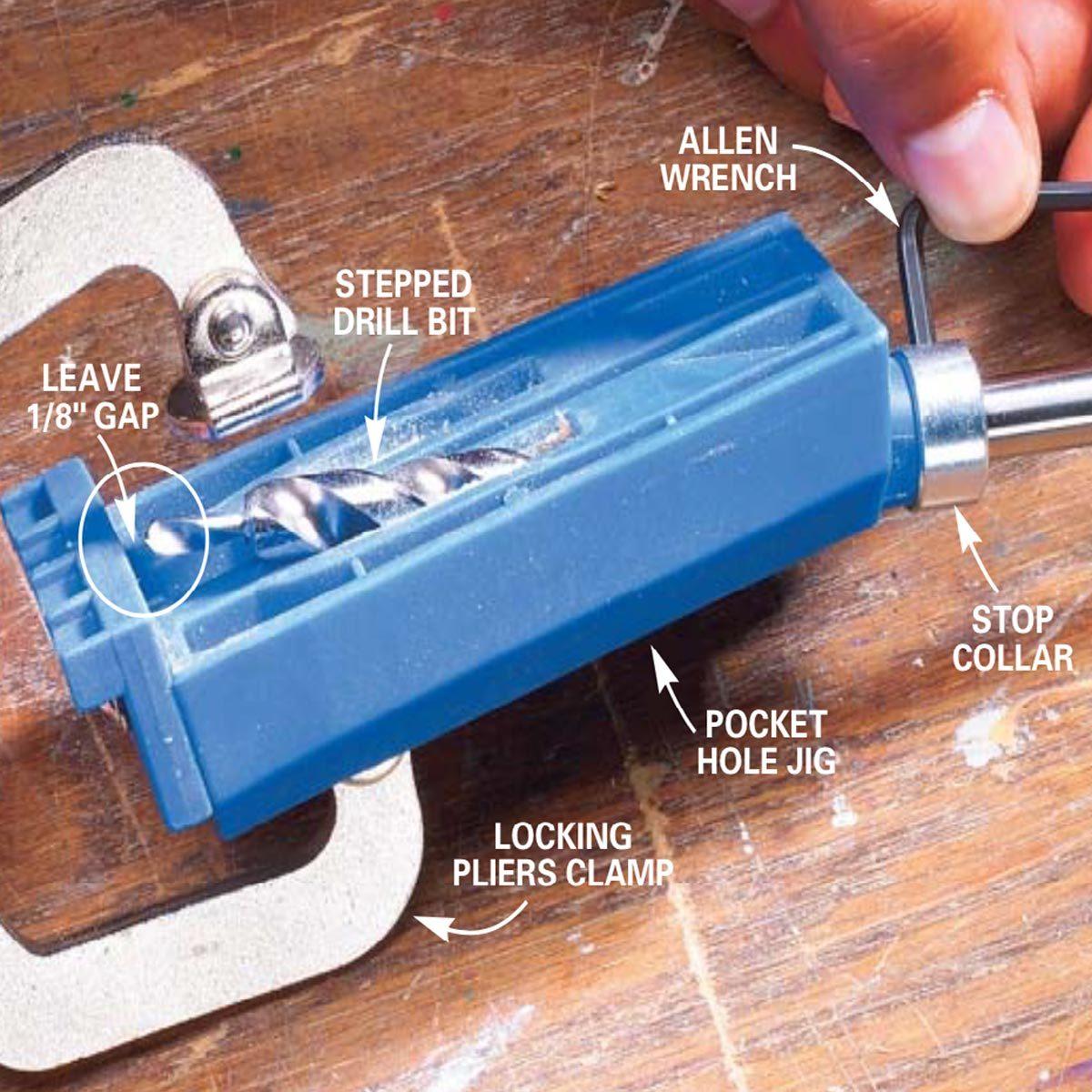 Learn How to Use Pocket Screws | Family Handyman