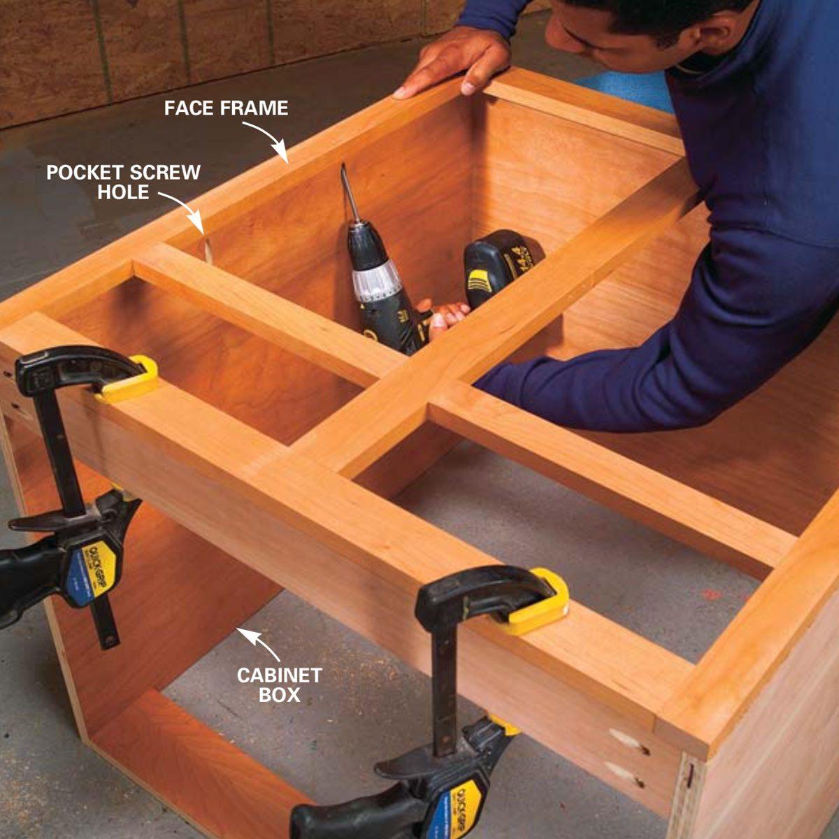 Learn How To Use Pocket Screws Family Handyman