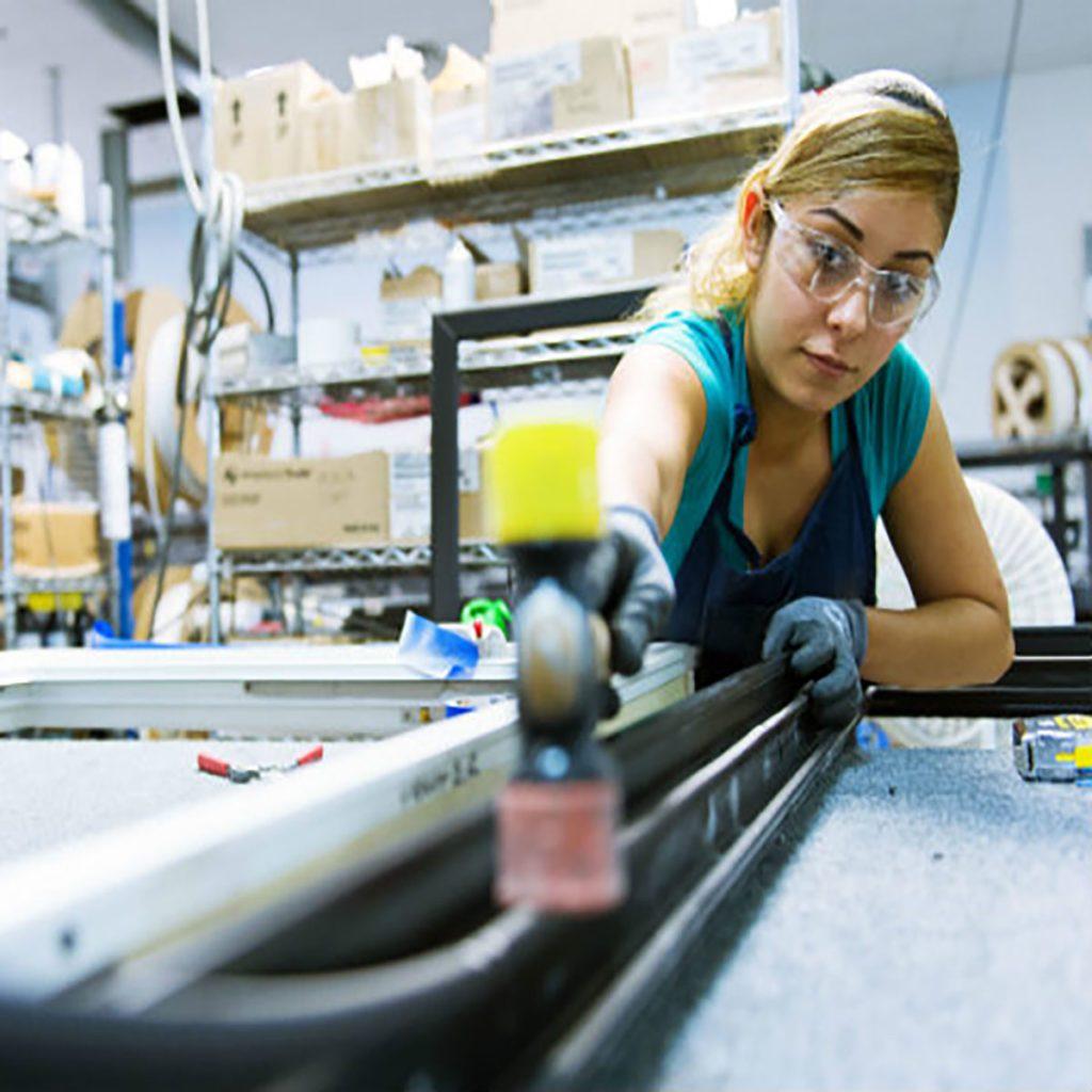 Woman making an Alpen window | Construction Pro Tips