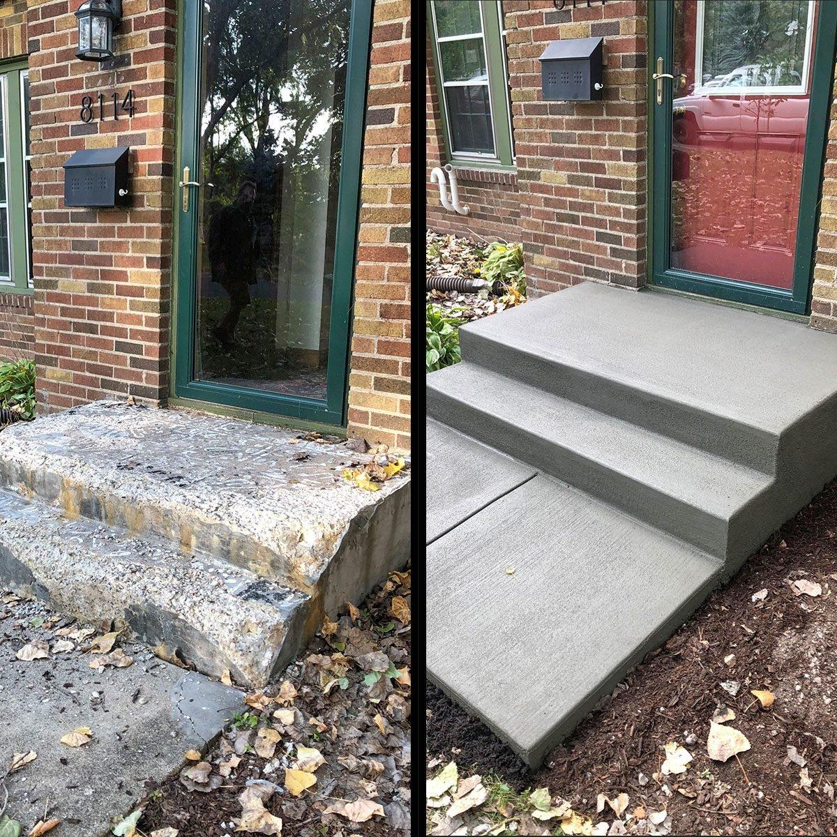 Build Concrete Steps