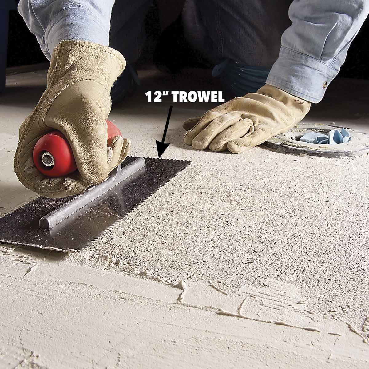 How To Remove Old Ceramic Tile Adhesive From Floor