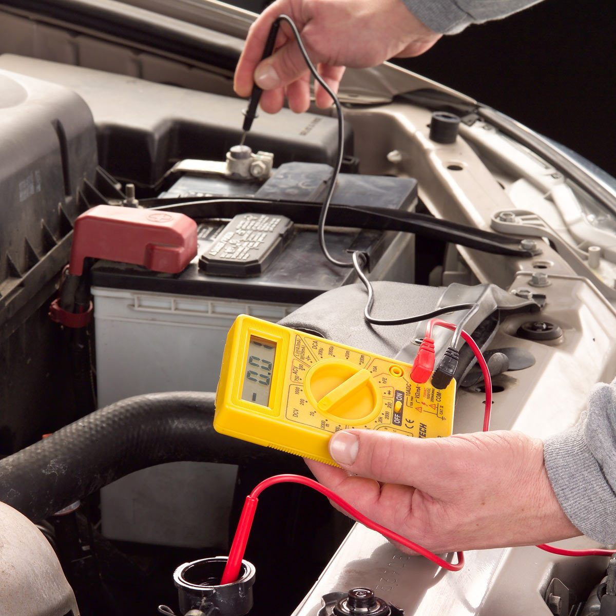 How To Check Antifreeze >> Coolant Testing With A Multimeter Family Handyman