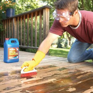How to Remove Flaking Deck Stain