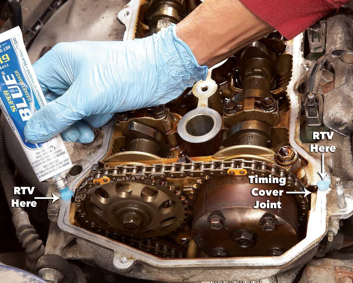 How to Fix a Valve Cover Gasket Leak in 3 Steps | The Family