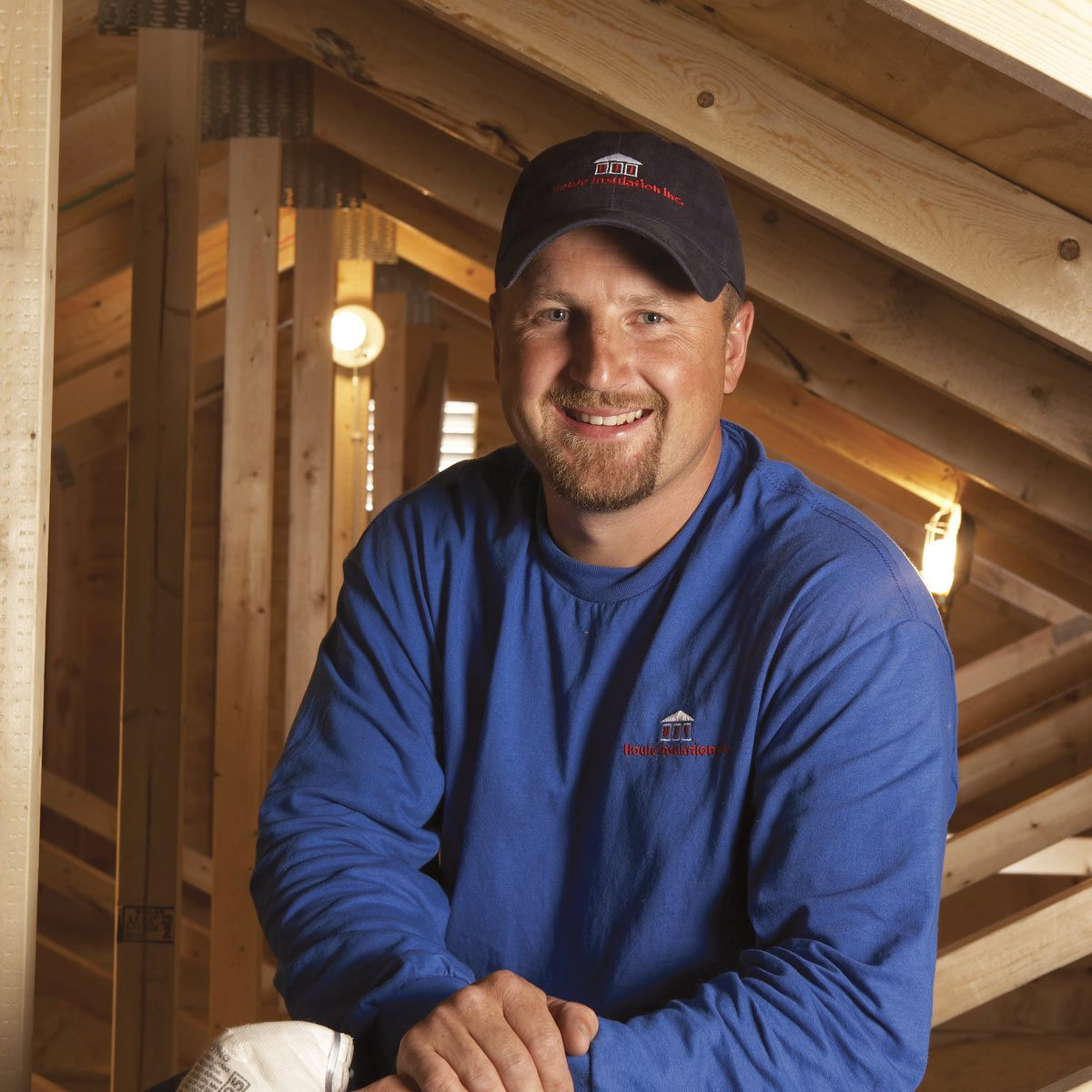Arne Olson, the owner of Houle Insulation