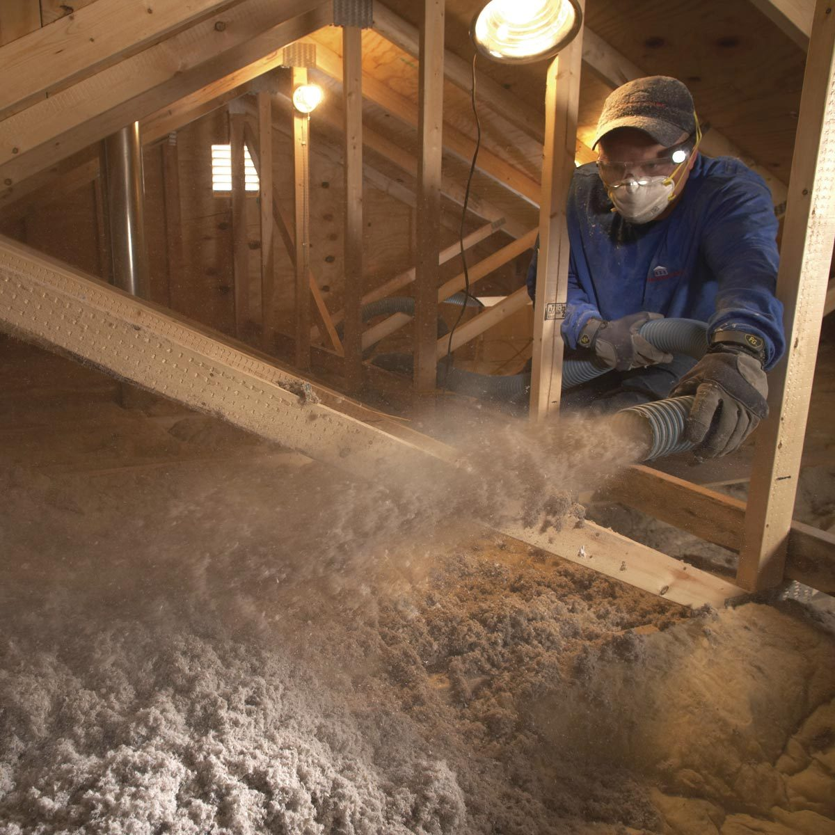 Best Way to Insulate Attic: Blown in insulation
