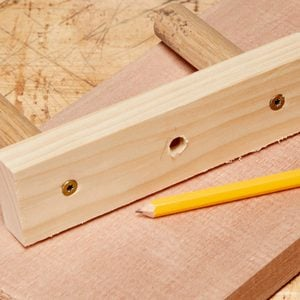 Foolproof Tool for Marking the Center of a Board