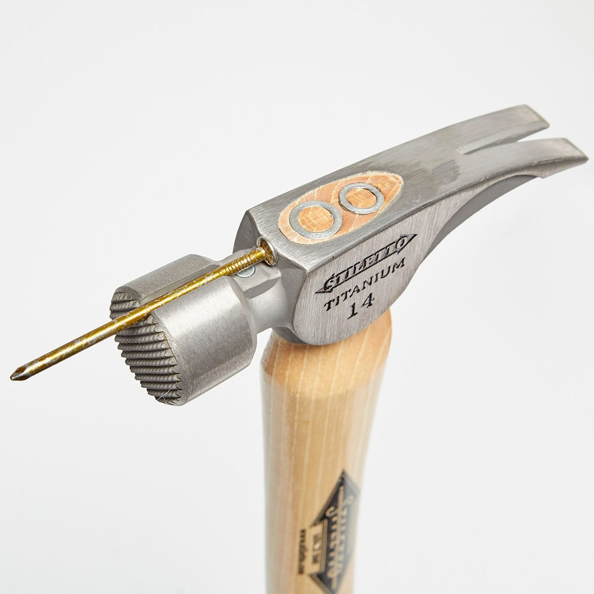 Nail stuck to magnetic hammer head   Construction Pro Tips