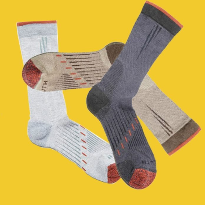 light weight performance work socks