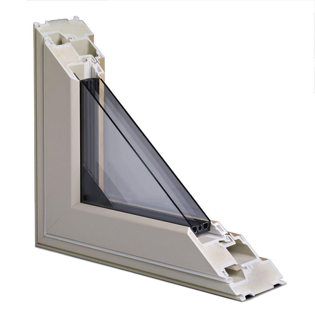 Cut away of the inside of an Alpen window | Construction Pro Tips