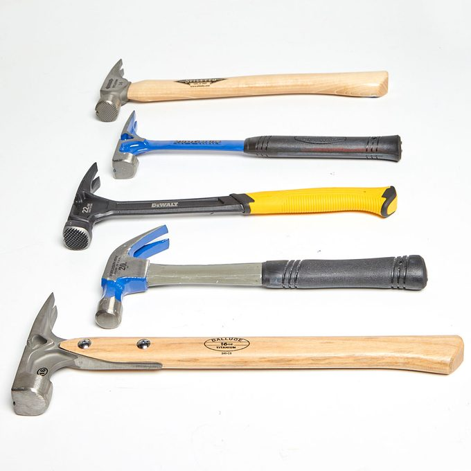 A bunch of hammers laying next to each other | Construction Pro Tips