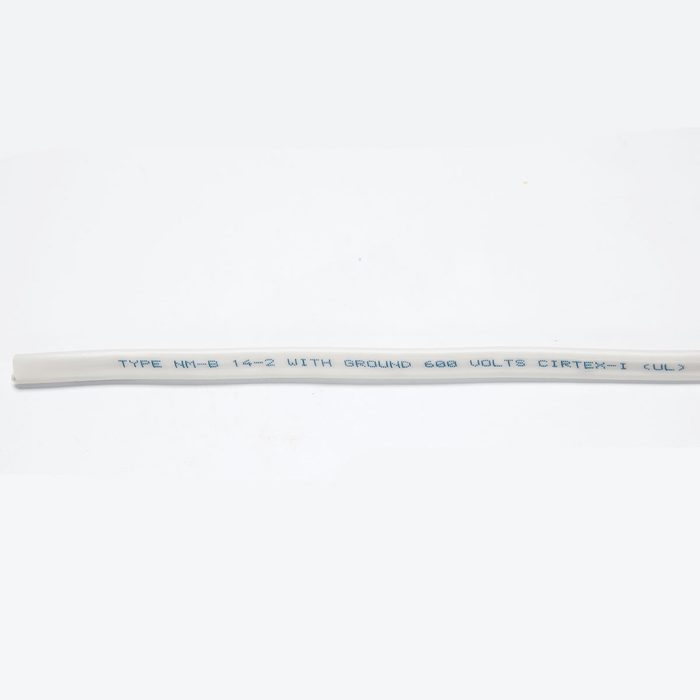 A close up look at the labeling on a cable | Construction Pro Tips