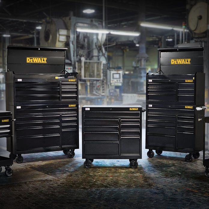 DEWALT Metal Storage Cabinets | Construction Pro Tips