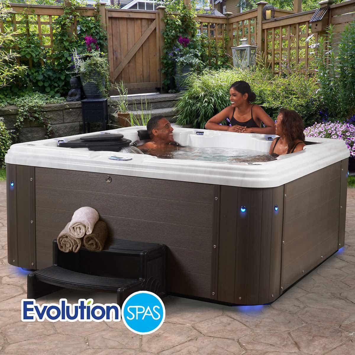 evolution spa hot tub