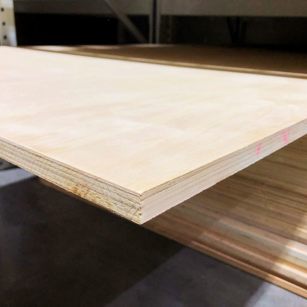A slab of plywood with defects | Construction Pro Tips