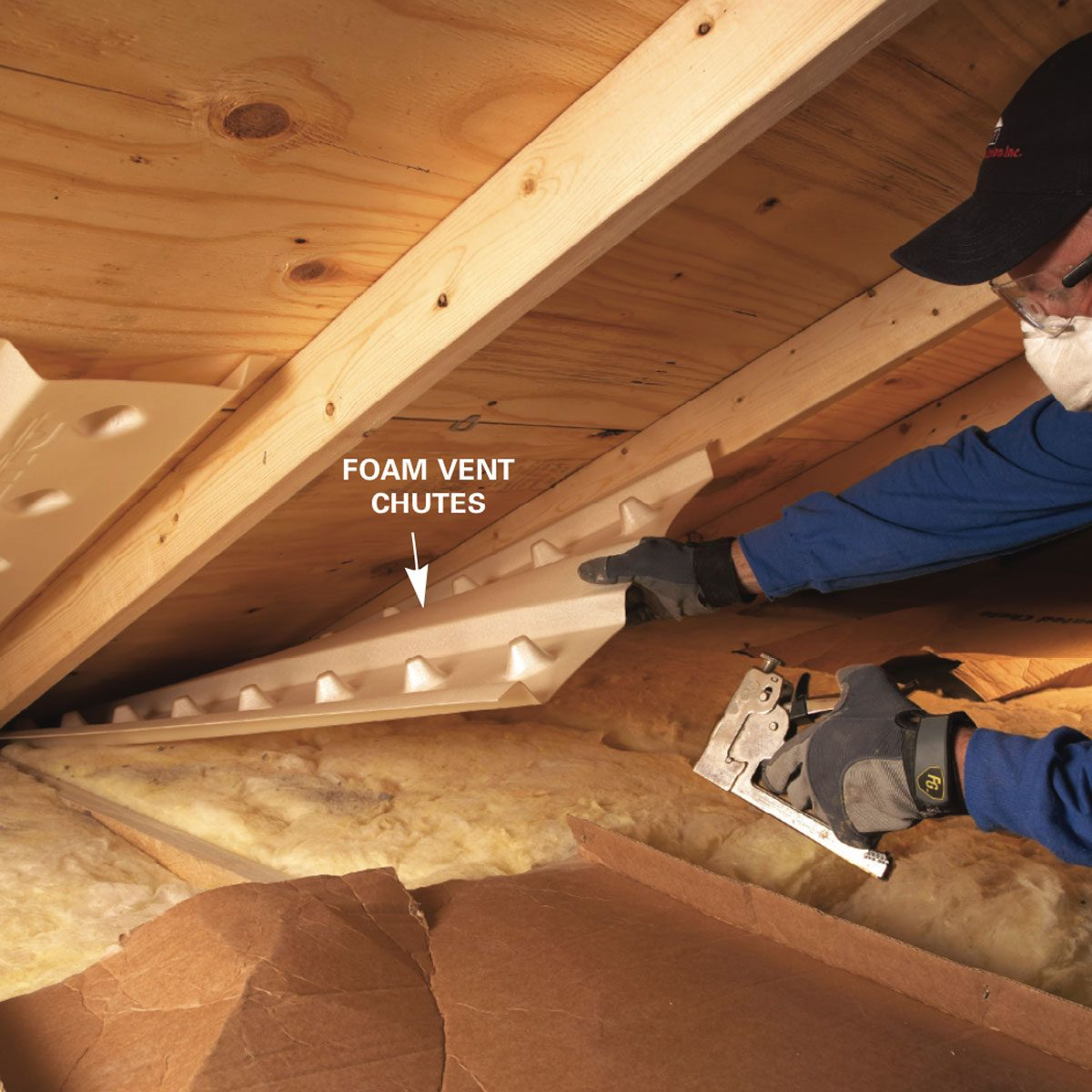 Saving Energy Blown In Insulation In The Attic Family