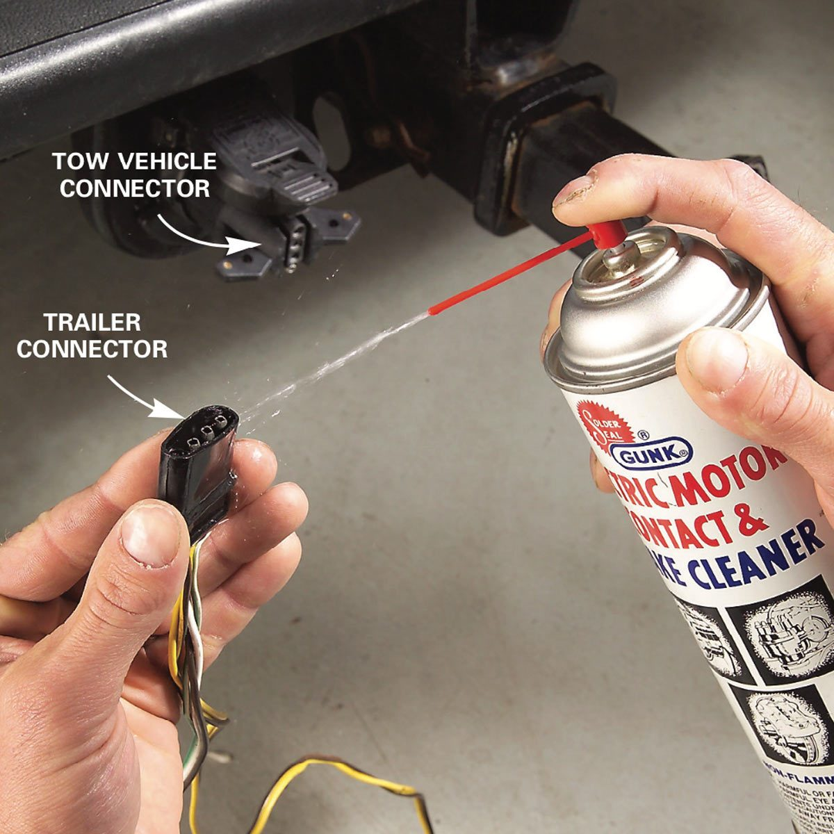 [DIAGRAM_5NL]  Lights Out? Here's 9 Trailer Wiring Fixes | Family Handyman | Troubleshooting Lighting Functions On Trailer Wiring Harness |  | The Family Handyman