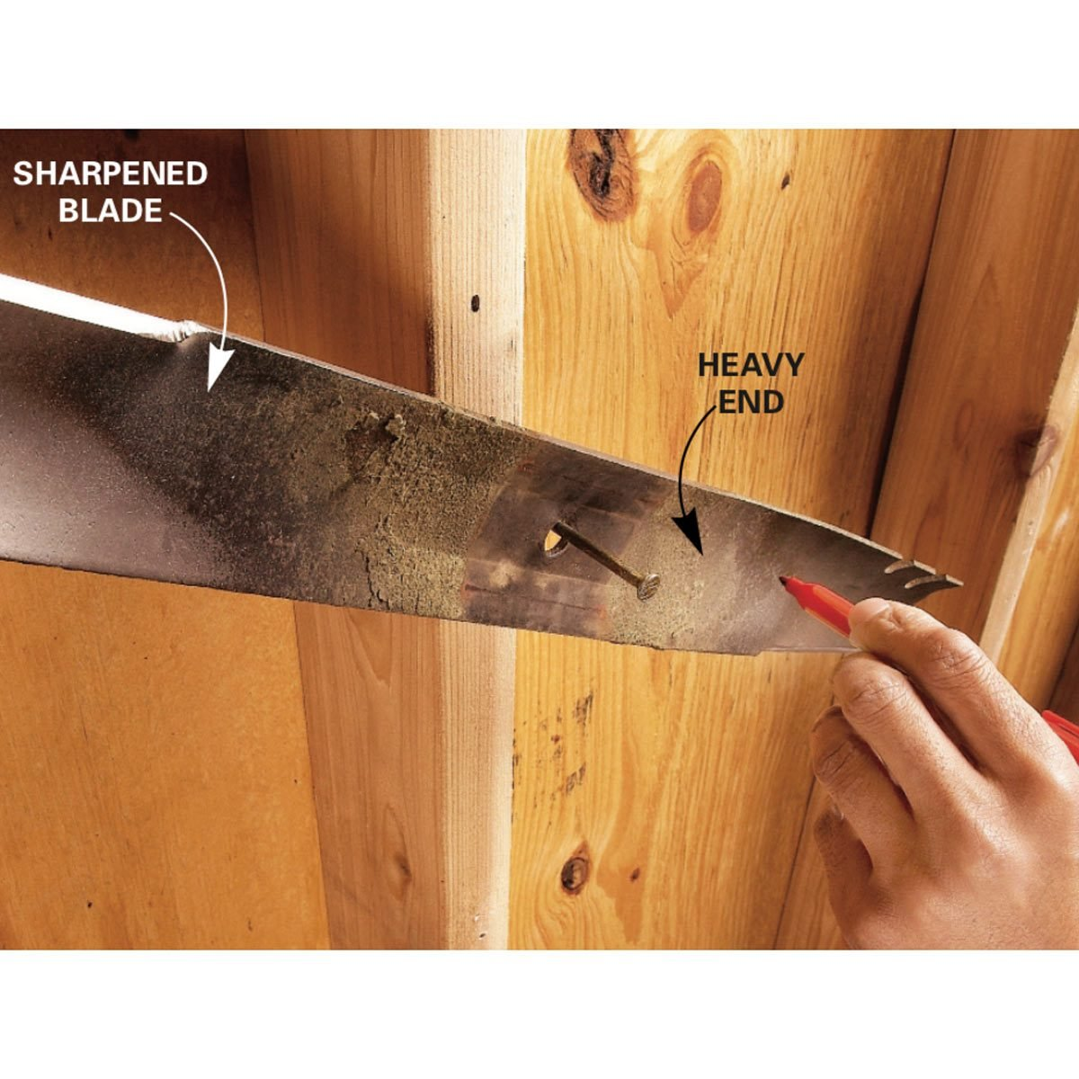 Sharpen Your Lawn Mower Blade | Family Handyman