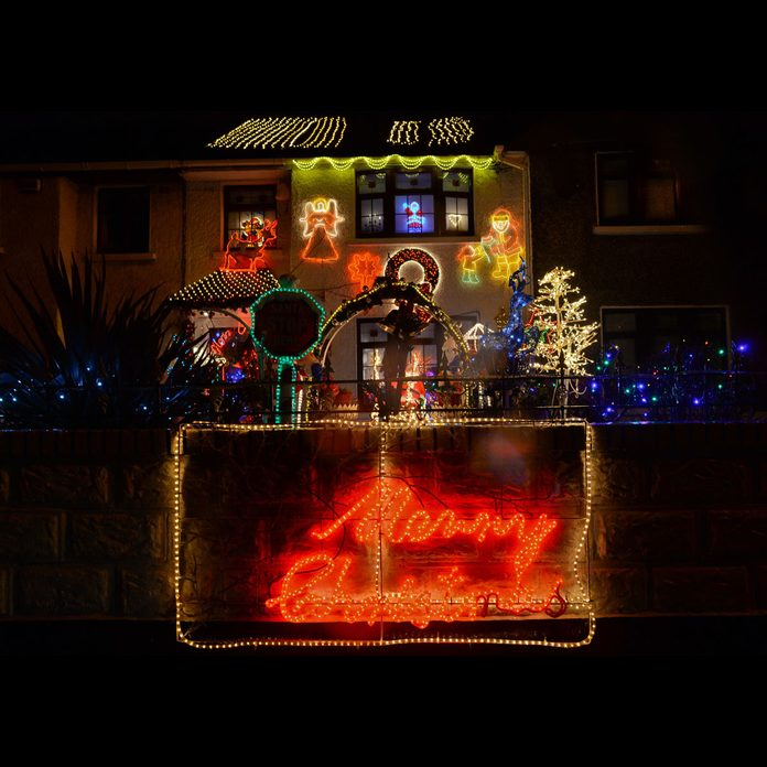 Christmas light display Dublin