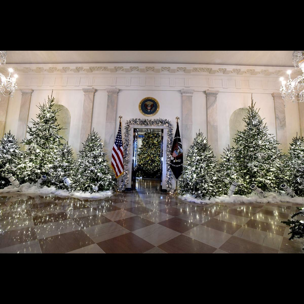 2017 White House Christmas decorations