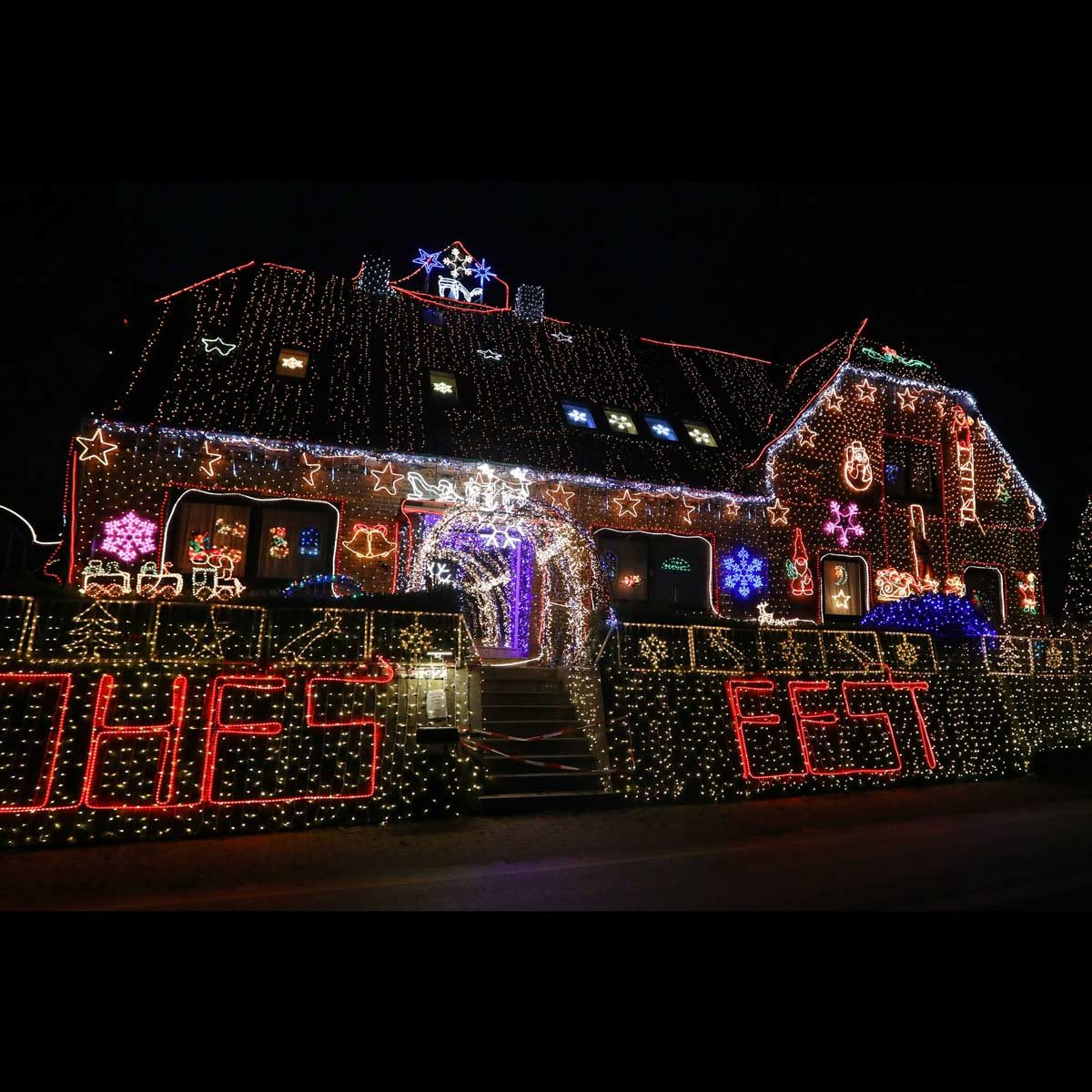 Crazy Christmas lights