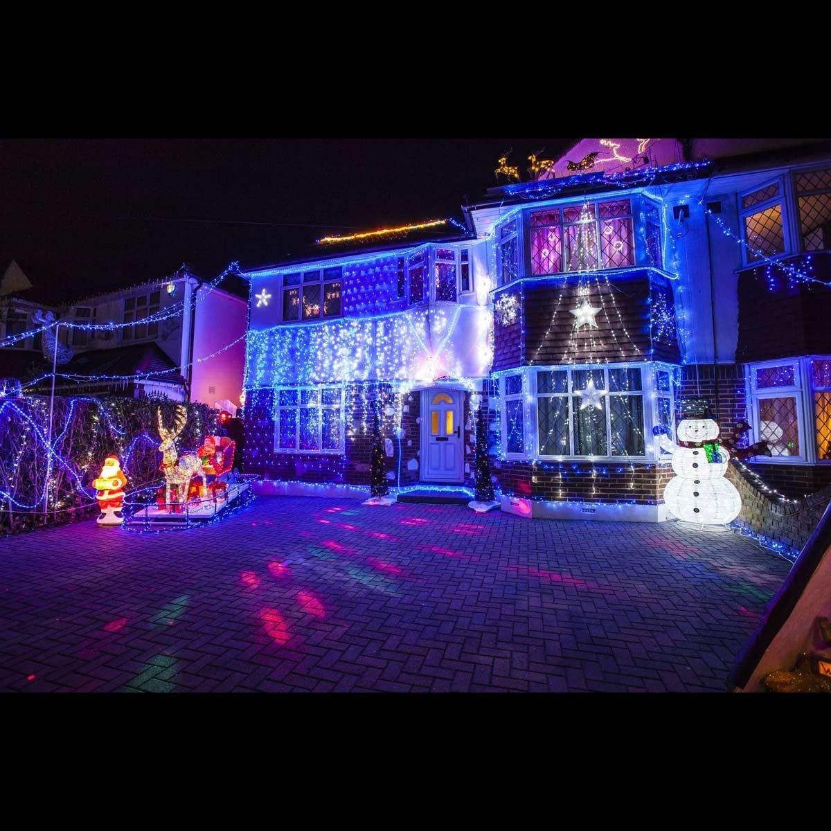 Lower Morden Lane Christmas Lights, London