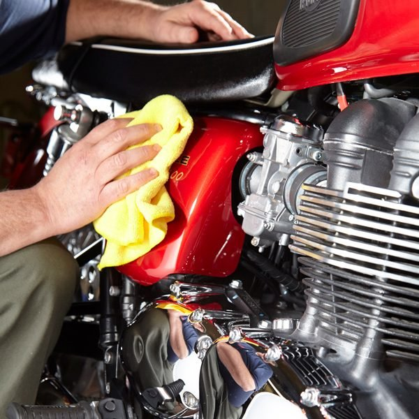 Motorcycle Wash and Detailing Tips | The Family Handyman