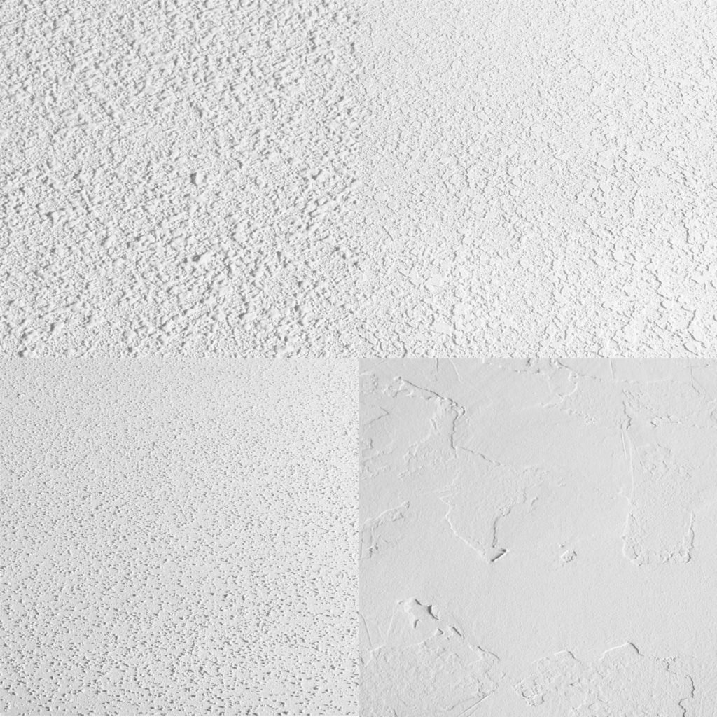 Four different kinds of ceiling textures | Construction Pro Tips