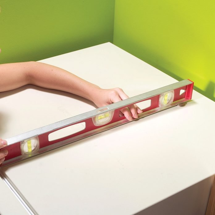 level fridge with quarters