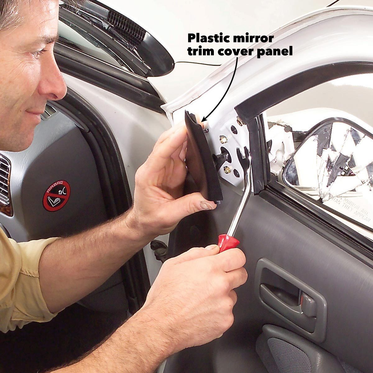 replace side mirror