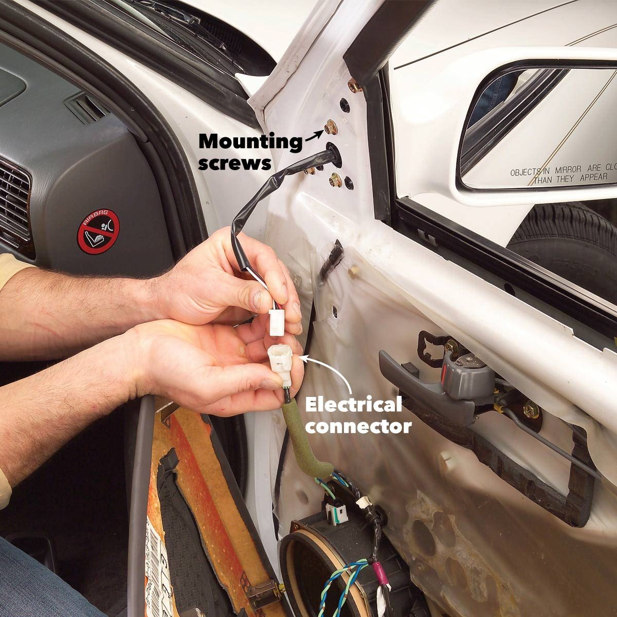 Replace A Broken Side View Mirror | The Family Handyman