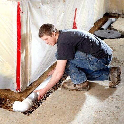 How to Waterproof a Basement basement drainage, basement drainage system