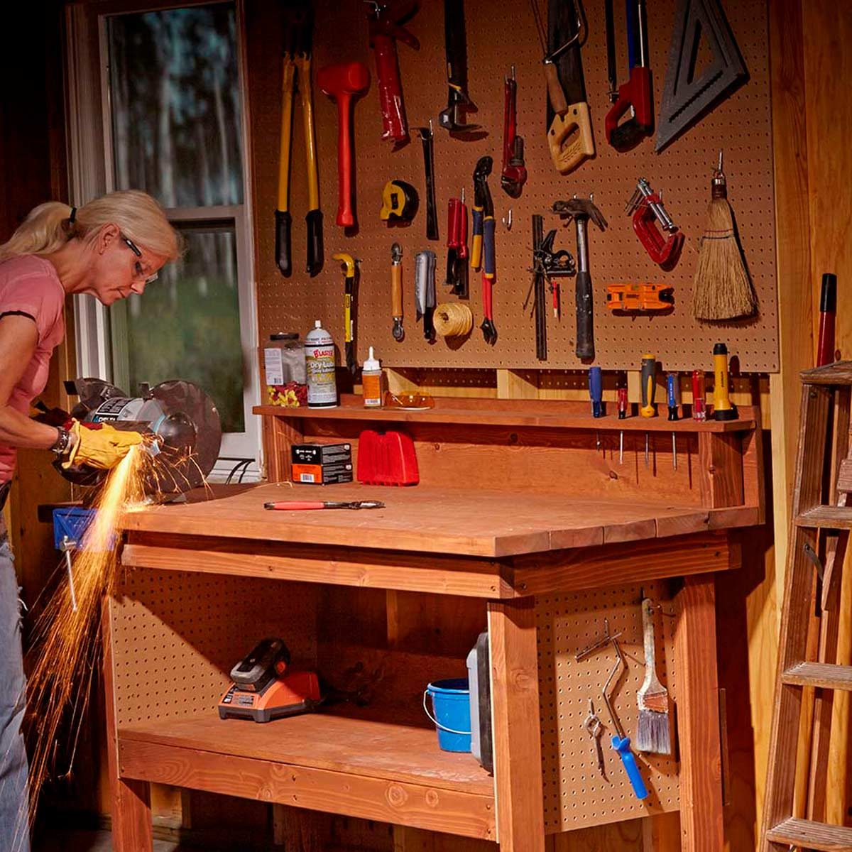 14 Super Simple Workbenches You Can Build