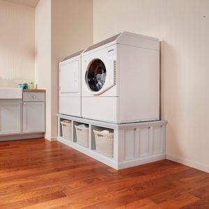 How to Build a Laundry Room Pedestal