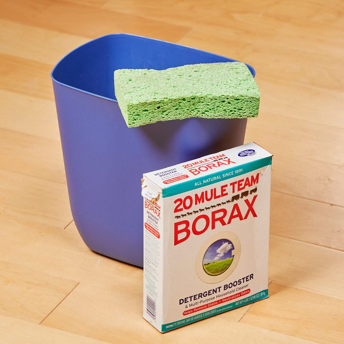 HH handy hint borax garbage can deodorizer