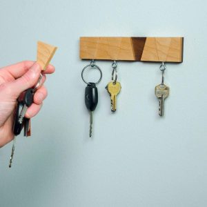 Saturday Morning Workshop: Contemporary Key Hanger