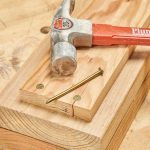 This Nail Hack Will Prevent Wood From Splitting
