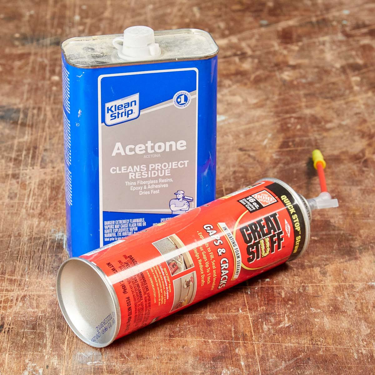 How to Instantly Remove Spray Foam Mistakes | The Family Handyman