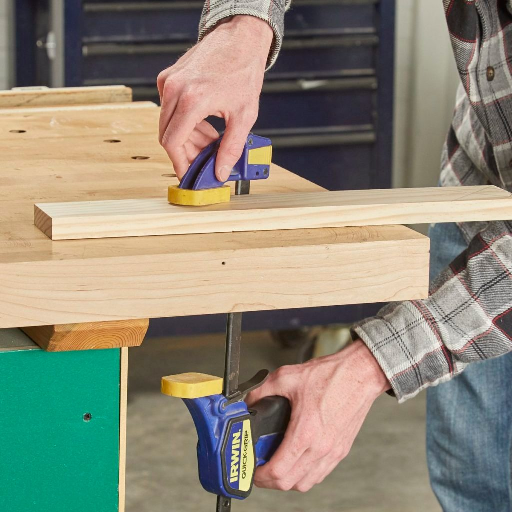 Trigger-Style Bench Clamps
