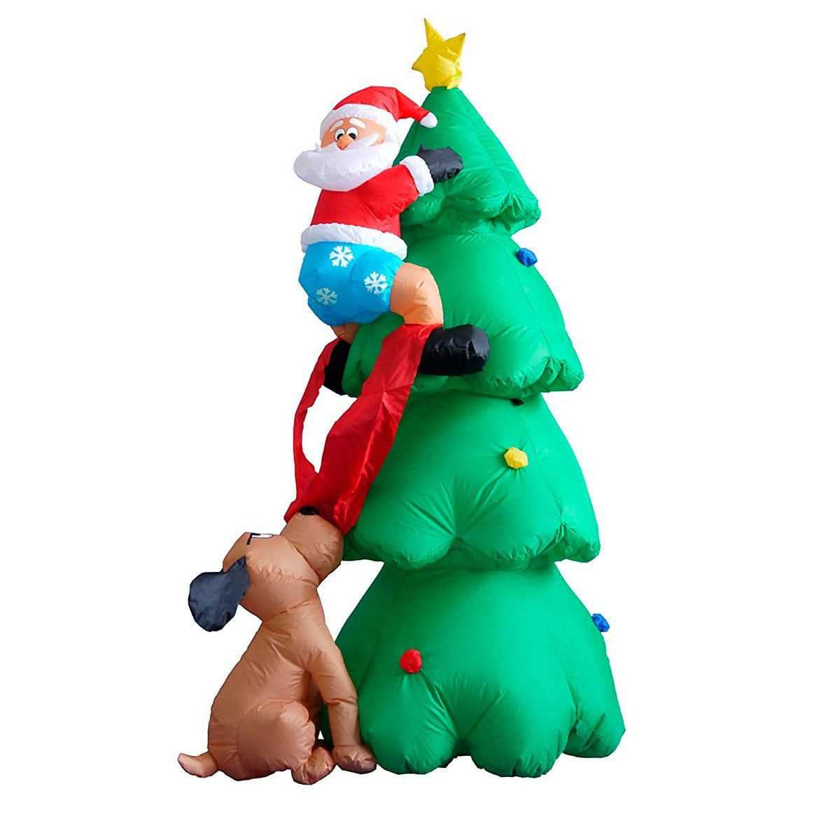 Christmas Tree Inflatables.11 Christmas Inflatables Your Neighbors Might Not Like