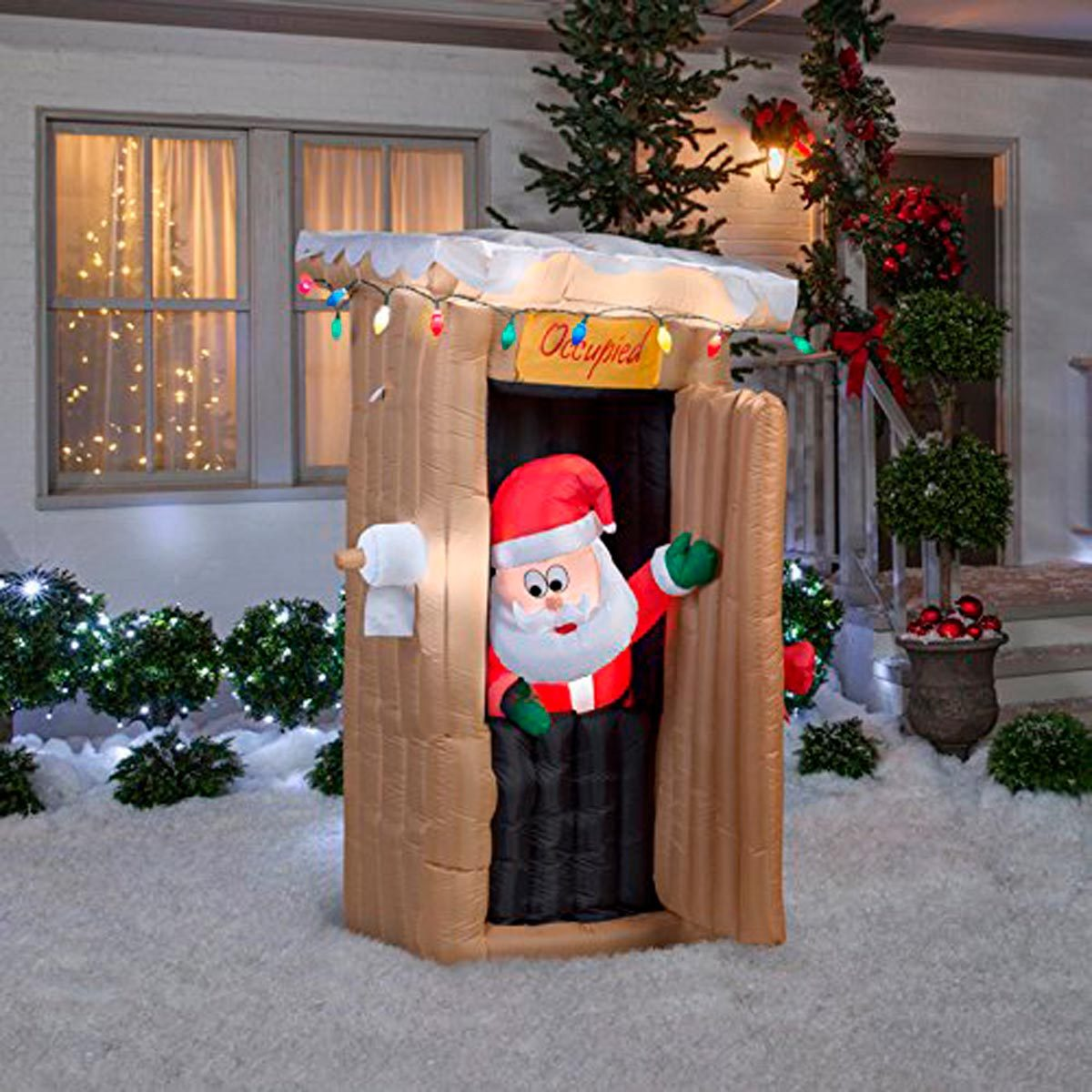 11 Christmas Inflatables Your Neighbors Might Not Like
