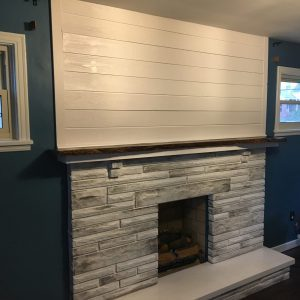 Reader Project: DIY Fireplace Makeover