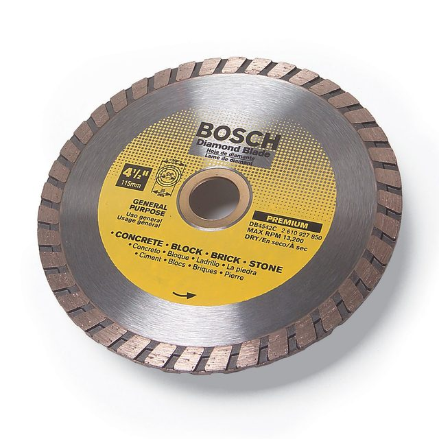 A diamond blade from bosch | Construction Pro Tips