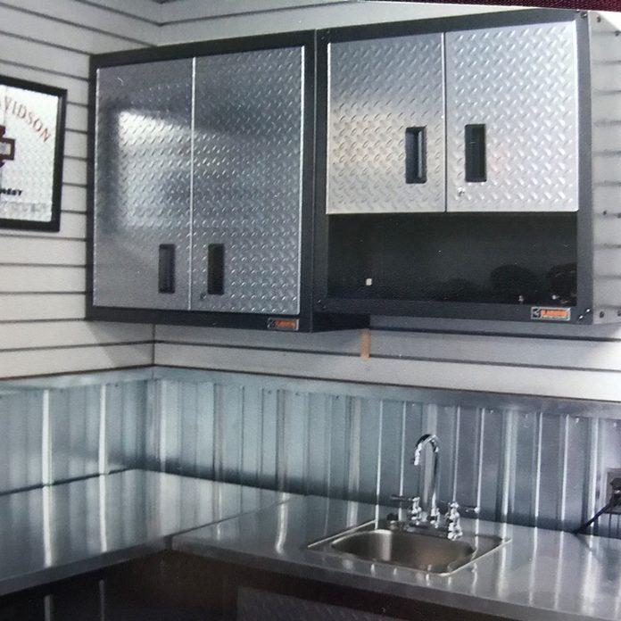 DIY family handyman garage makeover