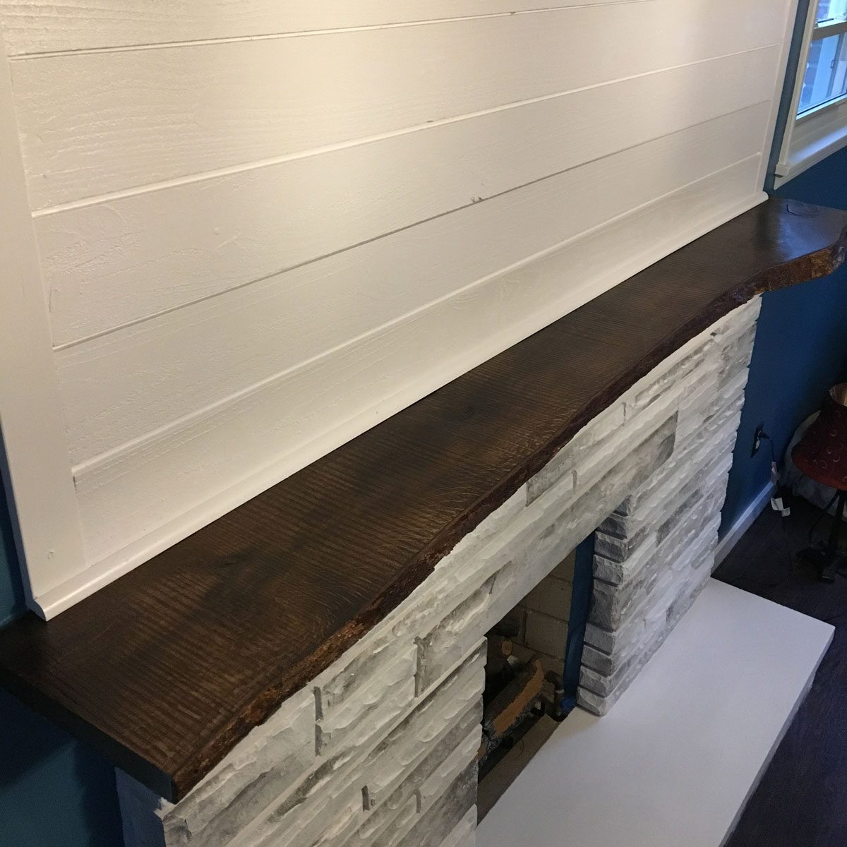 reader project: diy fireplace makeover | the family handyman
