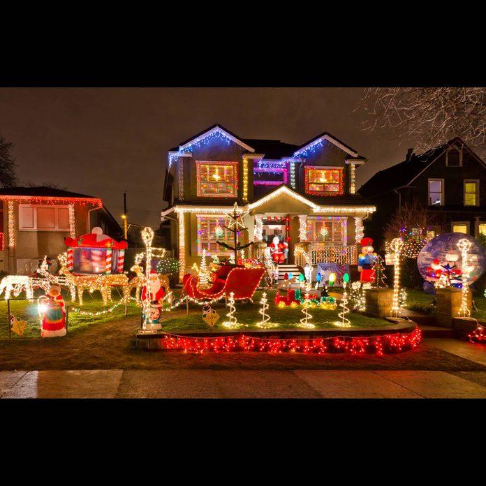 Vancouver awesome Christmas lights