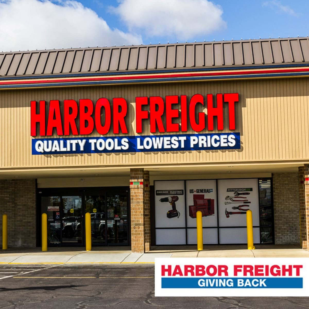 Harbor Freight Gives Back To Veterans Schools And First